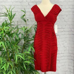 Adrianna Papell Red Dress - NWT